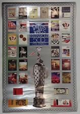 1991 Indianapolis 500 75TH Running Event Collector Poster Indy 500 IndyCar