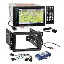 Soundstream DVD GPS Bluetooth Dash Kit Bose Harness for Buick Chevy GMC Pontiac