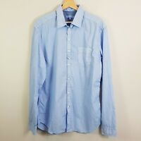 DIESEL Mens Size XL Blue Long Sleeve Shirt