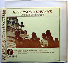 JEFFERSON AIRPLANE Almost Starshipshape Winterland 1970 Vinyl LP ZAP 7855
