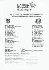 Away Teams Leyton Orient Football Reserve Fixture Programmes