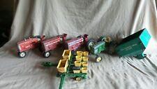 Vintage Diecast farm tractor Tru Scale Ertl planter 1/16 Structo Sand Hopper