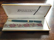 Vintage Reflections Fine Writing Instruments  Blue Color  Pen In Case