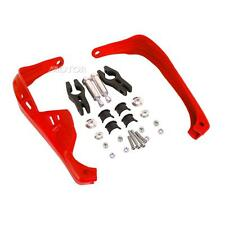 "Red 7/8"" Offroad  Hand Guard For Suzuki RMZ250 RMZ450 DRZ400 RM250 Snowmobile"
