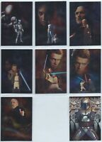 2002 Topps Star Wars Attack of the Clones Silver Foil You Pick Finish Your Set