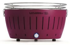 Lotusgrill XL Plum Purple the Smoke-Free Charcoal Grill / Table Grill Purple New