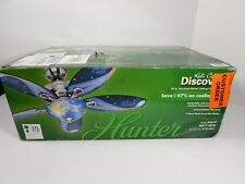 Hunter Discovery 48 Inch Indoor Brushed Nickel Ceiling Fan Light Kit