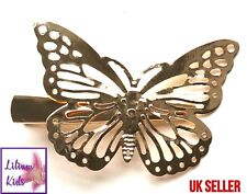 Gold Butterfly Hair Clip - Beautiful Accessory for Wedding or any Outfit