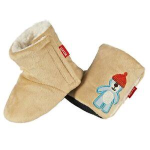 Baby Boots Winter Warm Newborn Girl Boy Pattern Bear Toddler Prewalker Anti Slip