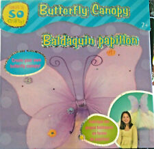 Butterfly Canopies Set of 2 Each Kit Contains 49 Pieces Age 7 and Up