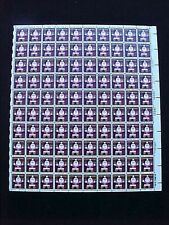 U.S: #1800 15¢ SANTA COOKIE MINT SHEET/100 NH OG