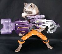 Marvel Guardians of the Galaxy Big Blastin' Rocket Raccoon Action Figure Talking