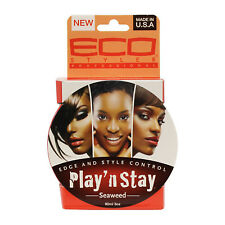 [ECO STYLER] PLAY'N STAY 48HOUR SEAWEED OIL EDGE AND STYLE CONTROL GEL 3OZ
