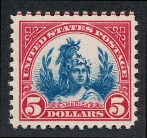 UNITED STATES (US) 573 MINT NH F-VF $5