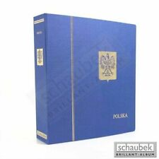 Schaubek KOA-811/01N Album Polen 1860-1944 Standard im geprägten Leinen-Schraubb