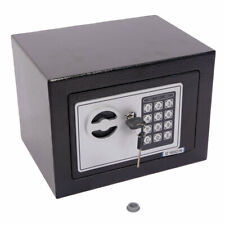 Electronic Password Money Cash Deposit Keypad Safety Box & 2 Keys Home Office