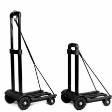 170lbs Heavy Duty Folding Cart Dolly Luggage Platform Push Hand Truck Trolley