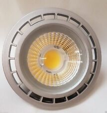 LED AR111 G53 Strahler Spot 15W wie 80 W 38° 12V silber 1300lm 4200K Neutralweiß