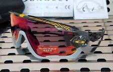 New Oakley JAWBREAKER Sunglasses Tour de France 9290-3531 Carbon w/ Prizm Road