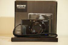 Sony Cyber-shot DSC-RX100 (DSC-RX100) CMOS Digital Camera - Black w/Grip