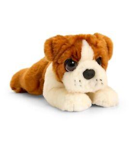SALE Bulldog Plush Stuffed Soft Toy Dog 32cm  by Keel Toys