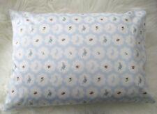 Toddler / Child Pillowcase - Peter Rabbit / Blue - Handmade FREE POST