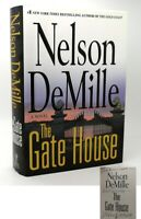 Nelson Demille THE GATE HOUSE Signed 1st 1st Edition 1st Printing