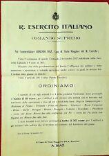 2209-R. ESERCITO ITALIANO, COMANDO SUPREMO, ZONA DI GUERRA 1917, ARMANDO DIAZ