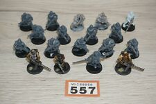 Warhammer 40k Chaos Marines Cultists x 18 including Tetchvar Painted LOT 557