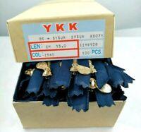 Cerniere Blu 100 pezzi YKK 15 cm Cerniera Ottone Zip Oro Jeans Z560