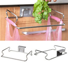 Door Kitchen Cupboard Stand Garbage Rubbish Trash Storage Bag Bin Rack Holder