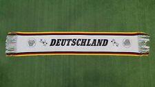 SCIARPA CALCIO NAZIONALE DEUTSCHLAND GERMANIA VINTAGE SCARF BUFANDA SOCCER Z335