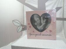 Little Star boite à souvenirs bois bébé fille coeur rose  25 x 9 cm