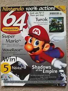 64 Magazine - Issue 1  / Super Mario 64 / N64