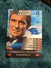 James Bond 007 - Spy Cards - Rare Foil Card - 057 - George Lazenby