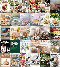Ricettari bimby riviste e libri TM5 TM31 TM21