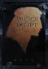 THR PRINCE OF EGYPT ADVANCE ONE SHEET ORIGINAL MOVIE POSTER DOUBLE SIDED