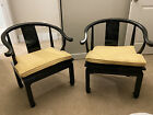 horseshoe chairs Antique Asian Style