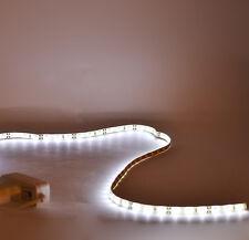 luce striscia 1m 60 led con alimentatore bianco 100 cm casa bar vetrine pensili