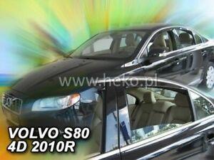 Wind deflectors VOLVO S80  2006 -  4.doors SALOON / SEDAN   4.pc  HEKO  31254