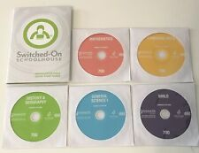 Switched on Schoolhouse 7th grade Complete Set! Windows 10, 8, & 7! Sos