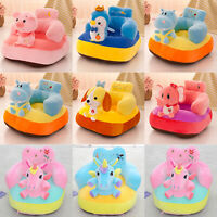 Cute Cartoon Sofa Skin for Infant Baby Seat Sofa Cover Learn to Sit Chair Toys