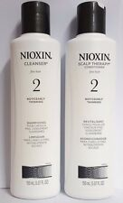 Nioxin System  2 Cleanser Shampoo and conditioner 5.07 oz (new)