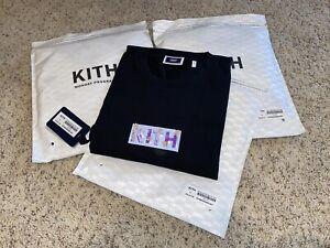 Kith x Superwaxx Box Logo L/S LT-Shirt - Black - Monday Program Deadstock BLM