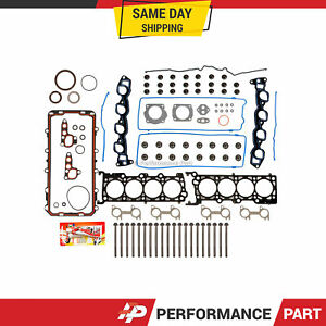 Full Gasket Set Head Bolts for 91-95 Ford Crown Victoria Lincoln Town Car V8 4.6