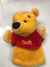 Walt Disney Winnie The Pooh  Plush Hand Puppet Toy Mattel