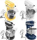 New KitchenAid Pro 600 Stand Mixer KP26m1xq 6-Qt White,Pearl Metalic,Yellow,Blue