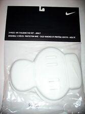 Nike Hip/Tailbone Pad Adult 3-Piece Set Size Osfm 2-Hip 1-Tailbone Pad Nip
