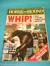HORSE and HOUND - WHIP ABUSE OR AID - FEB 25 1993