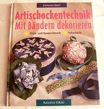 Artischockentechnik - mit Bändern dekorieren, Tisch- und Raumschmuck, Schachteln